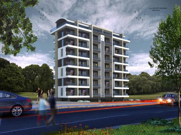 Cozy new project on hills of popular neighborhood of Alanya