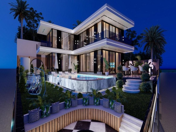 Glamorous 4 bedroom villa with private swimming pool and luxury design