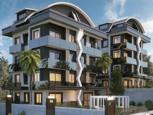 Luxury 4 bedroom apartment in exclusive complex in the heart of Alanya
