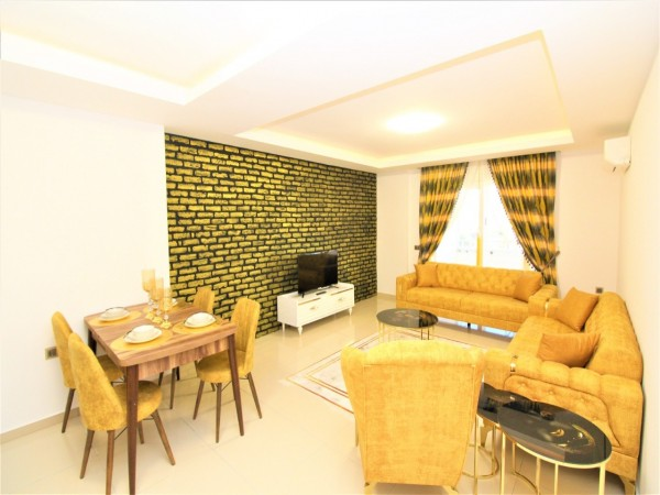 Fully furnished and ready to move in 1 bedroom apartment in Mahmutlar