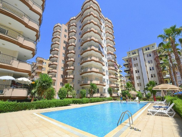 Magnificent furnished 2 bedrooms apartment for sale in Mahmutlar
