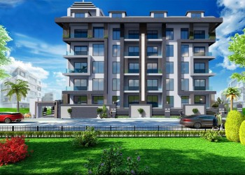 Luxury 1 bedroom apartment for sale in the centre of Alanya