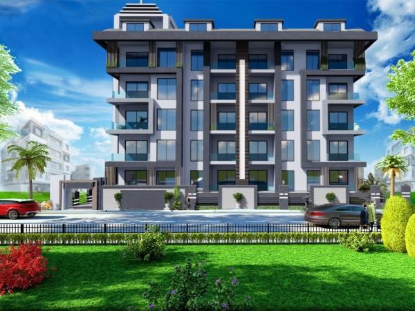 Luxuswohnungen zum Verkauf im Zentrum von Alanya
