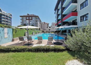Delightful fully furnished 6 bedrooms apartment for sale in Alanya