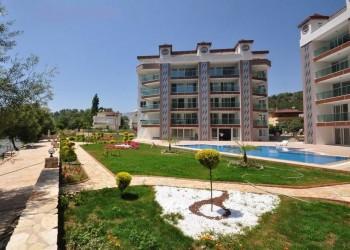 Просторная квартира с 3 спальнями в элитном районе Аланьи