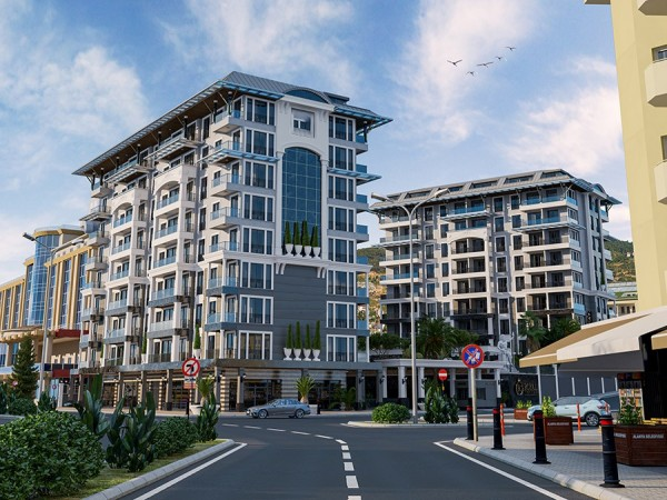 Luxury Apartments in a newly launched complex for sale in Alanya