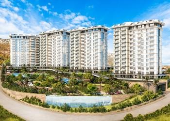 Schöne günstige Wohnungen in einem stilvollen neuen Komplex in Alanya