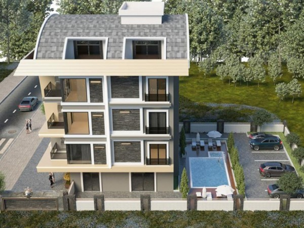 Stunning new project in beautiful Alanya