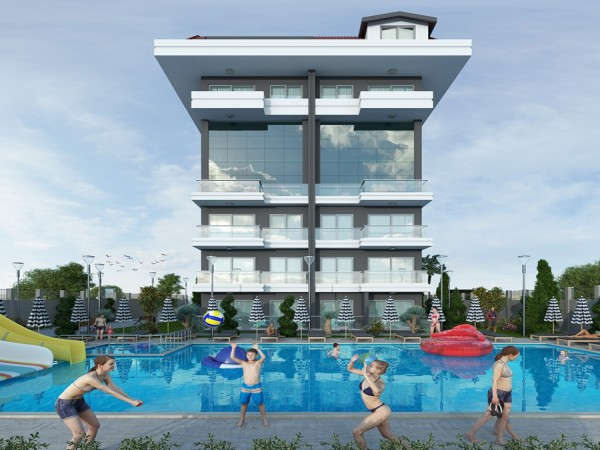 Exclusive new project newly launched in Alanya