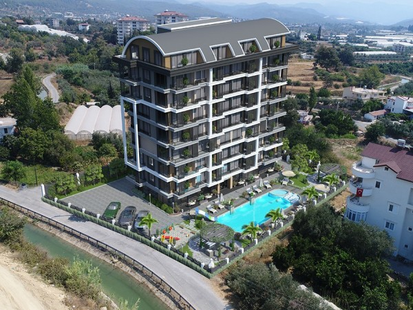 Stylish and affordable new project with payment plan in Alanya