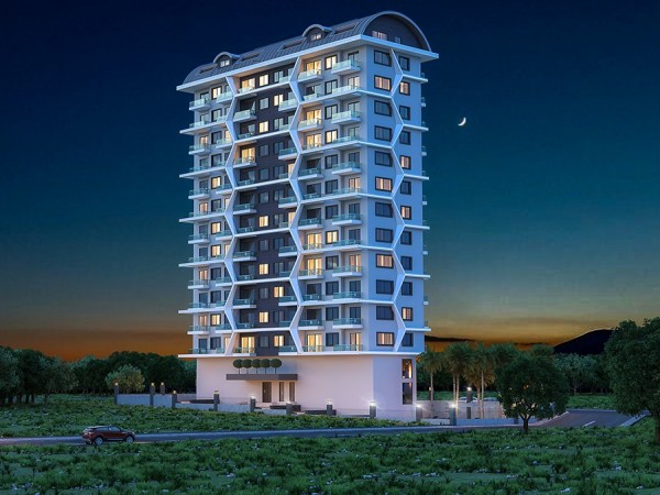 Amazing new project newly launched in Alanya