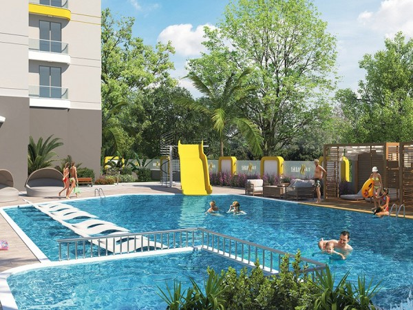 Luxurious new complex with many on site amenities in Alanya