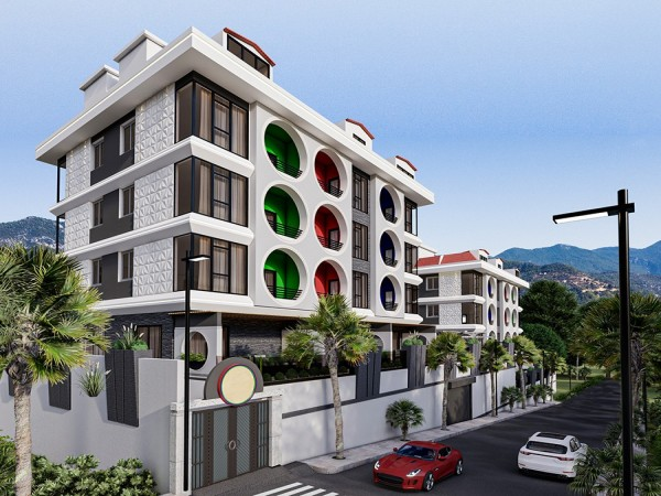 Fancy apartments with paymentplan in Alanya for sale