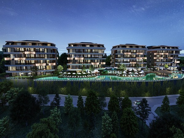 Exclusive new elite project in Alanya