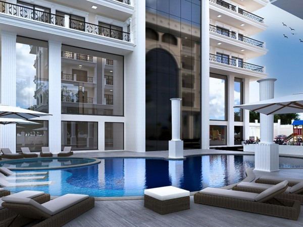 Exclusive high quality new project in the center of Alanya