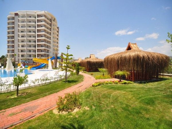 A luxury residential complex with superb infrastructure in Avsallar
