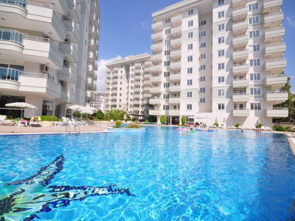 Luxury apartments in sunny Alanya