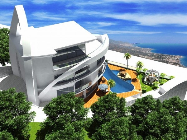 Feel ultimate luxury in this modern design villa in Alanya