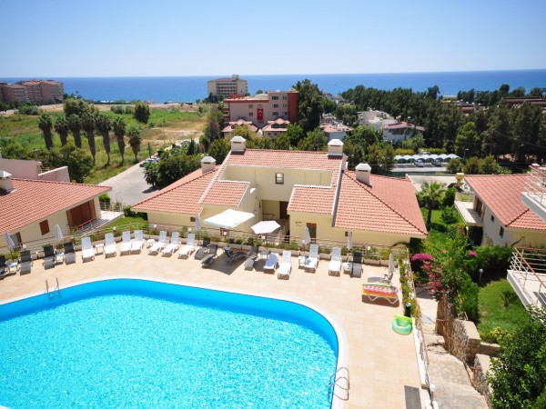 Stylish apartments with large living area in Alanya