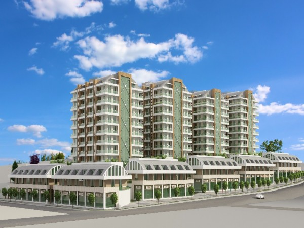 Stunning complex of high quality apartments with rich facilities on site