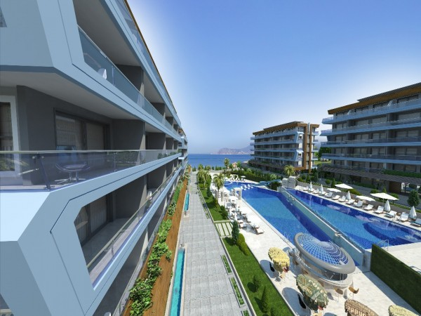 Family friendly complex for the new happy life in Alanya