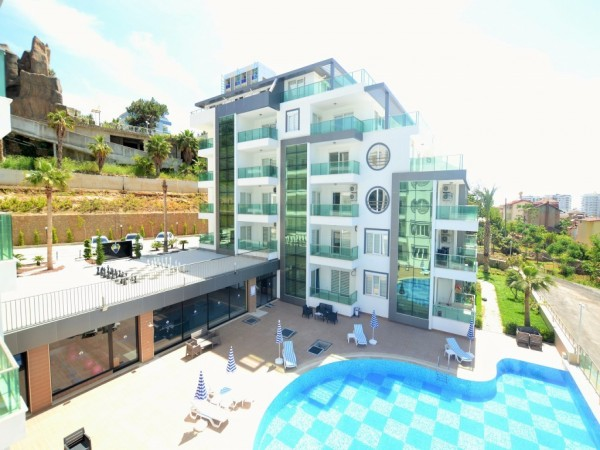 Stunning 1 bedroom apartment in Alanya
