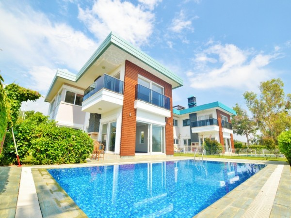 Modern design stylish villa for sale in Alanya