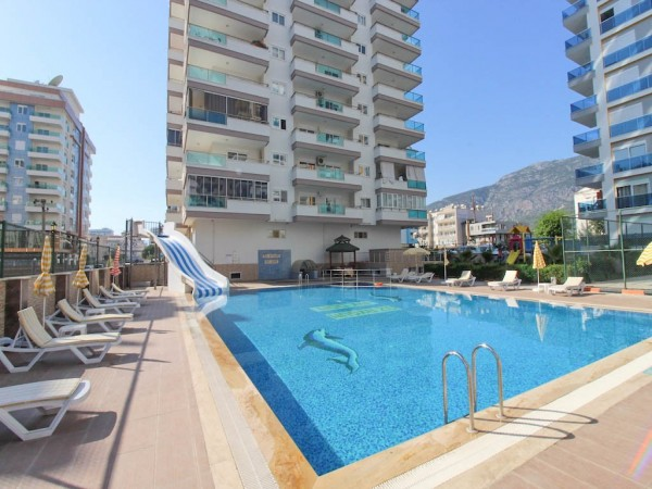 Luxury 1 bedroom apartment in stylish complex for sale in Alanya
