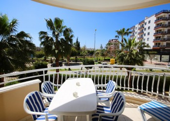 Large 2 bedroom apartment nicely located for sale in Alanya