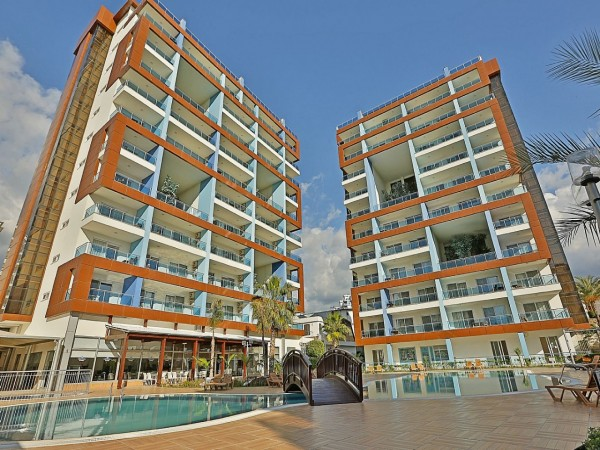 Tremendous apartment in Alanya city center with rich onsite facilities