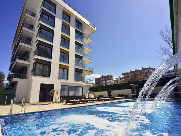 Modern design luxury residential complex very nicely located in Alanya