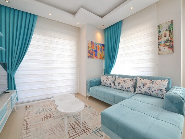 Fully furnished, ready to move 1 bedroom apartment in Alanya