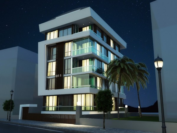 Superb residential complex right in downtown Alanya