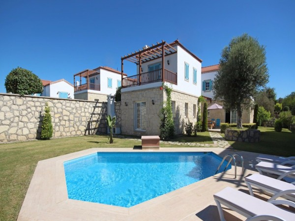 Stone Villas For Sale in Side with Seaview and Natural Landscapes!