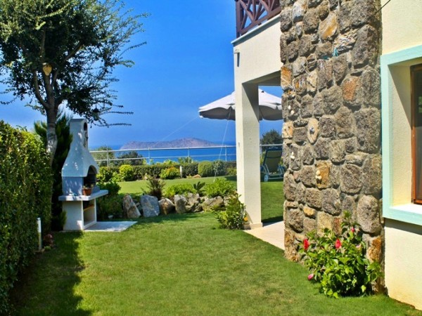 Spacious Gumusluk Apartment With Sea Views and Private Garden