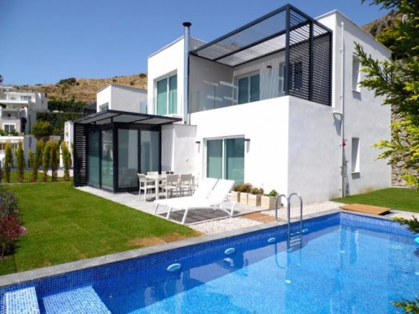 Luxury villa with amazing views and high quality of built in Kadıkalesi