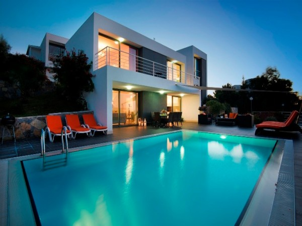 Modern design luxury villa with fantastic views and perfect quality