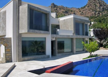 Contemporary design luxury villa in Bodrum
