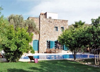 Luxury private stone villa in Bodrum