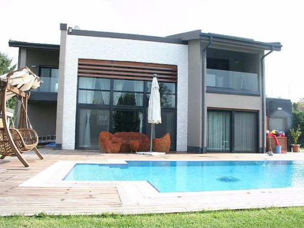 Luxury brand new detached villa for sale in Buyukcekmece, Istanbul