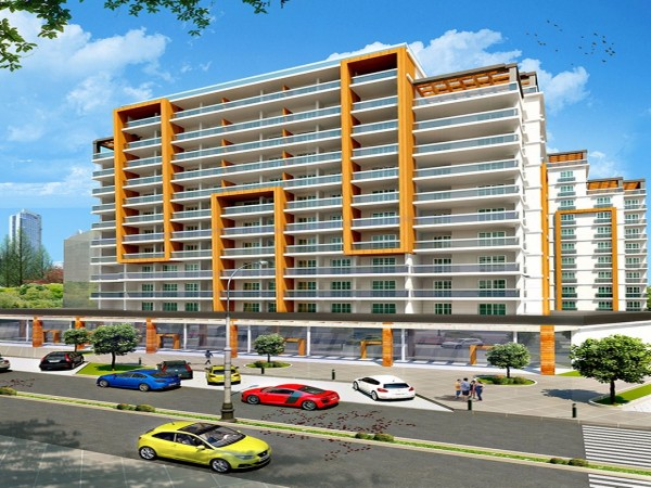 High quality apartments in a complex in stylish new complex in Beylikduzu