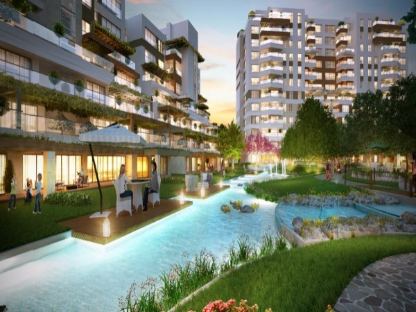 Luxury complex with high quality apartments in Sancaktepe
