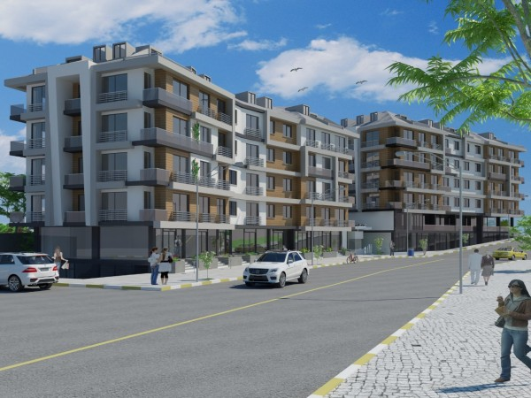 Luxury apartments in the complex with many facilities on site in Beykent