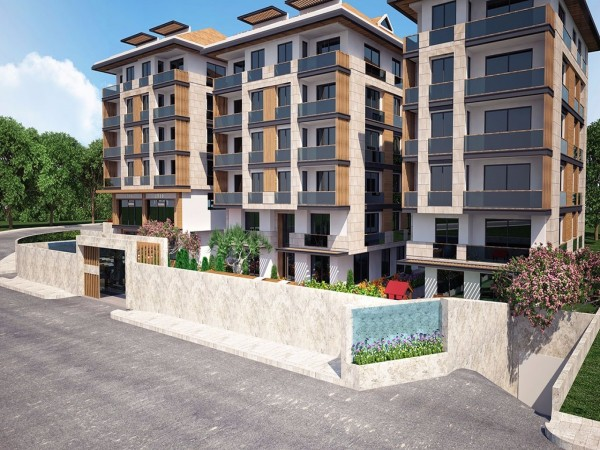 Affordable apartments in family friendly complex in Beylikduzu