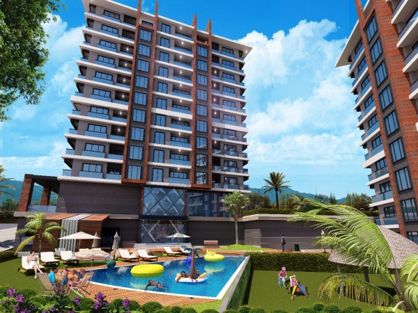 Modern style apartments in a superb complex with excellent facilities