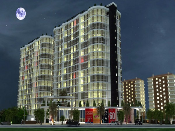 Affordable apartments in a newly finished complex in Beylikduzu