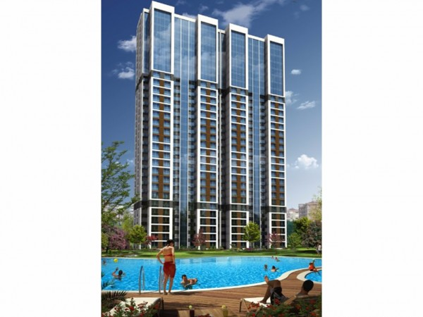 A luxury residential complex of high quality apartments in Bahcesehir