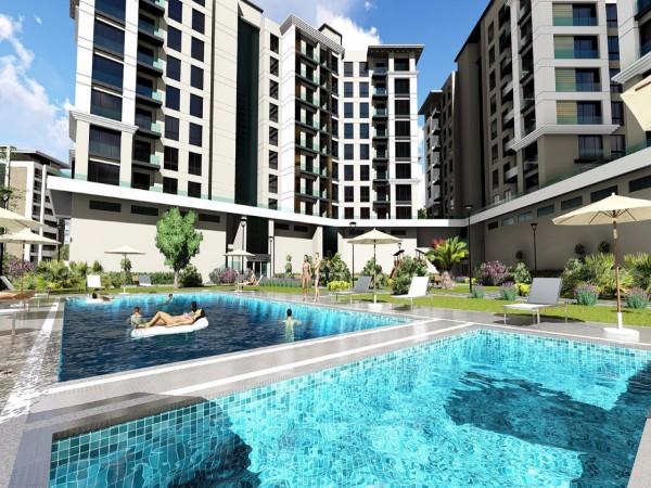 Superb luxury apartments centrally located in Beylikduzu