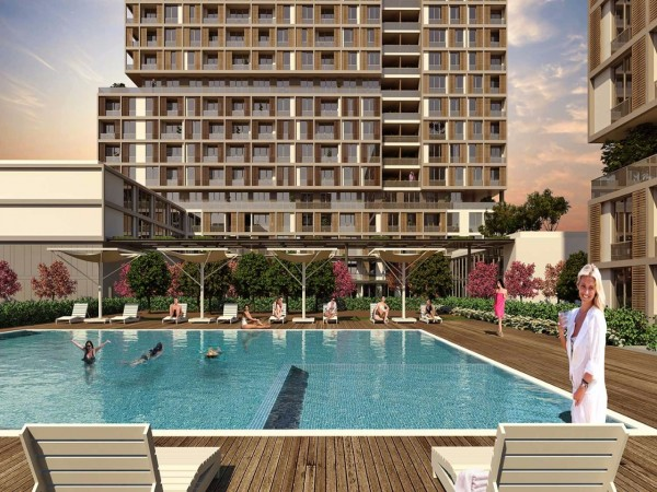 Stylish complex of high quality apartments near the international airport
