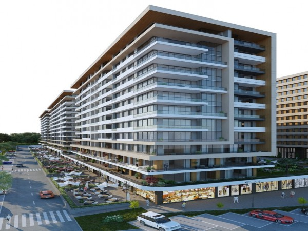Modern design project close to Marmara sea